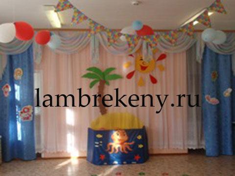 фото ламбрекены шторы